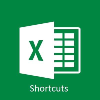Complete List of Excel Shortcuts – 109 Shortcuts
