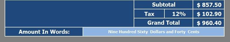 Download Invoice Excel Templates - ExcelDataPro