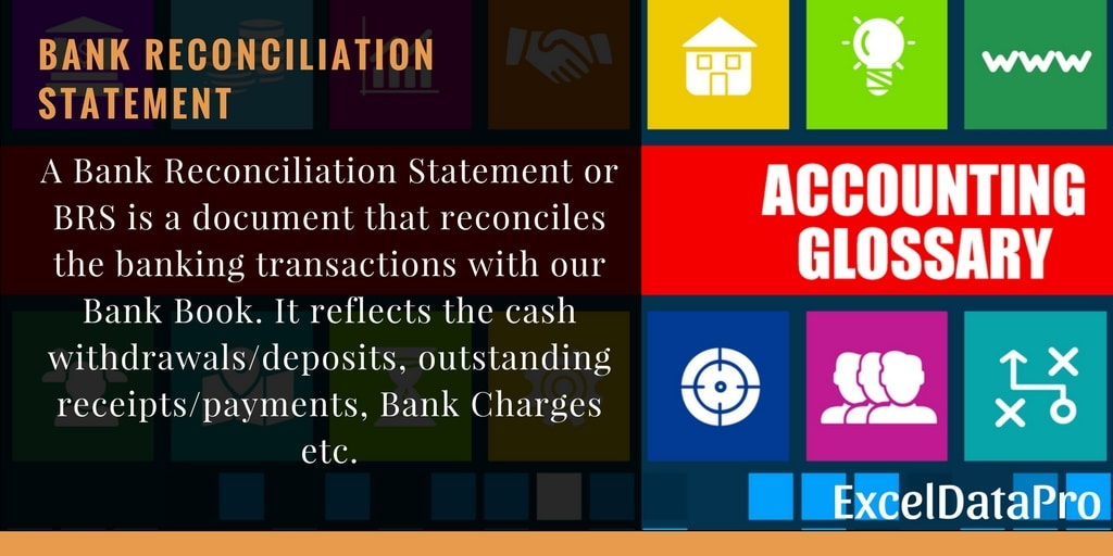 What is Bank Reconciliation Statement?