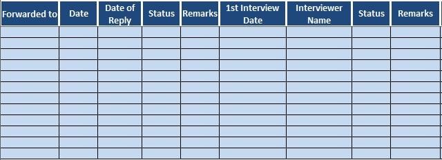 Job Candidate Tracker