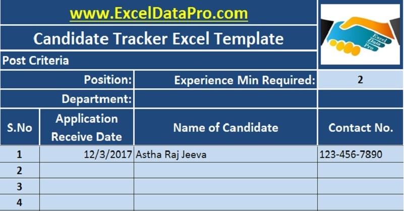 job application tracker template