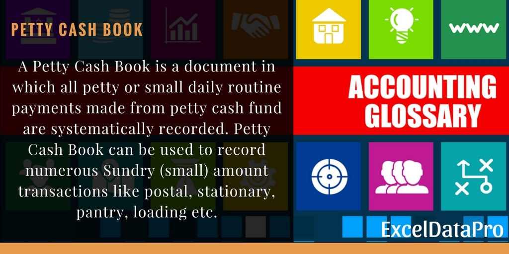 what is petty cash book