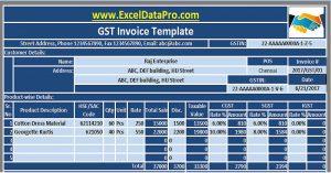 GST Invoice