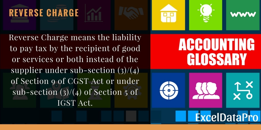 Tax liabilit... Reverse Charge Gst