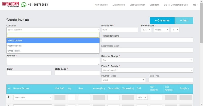Simplified GST Invoicing and Effortless GSTR Filing