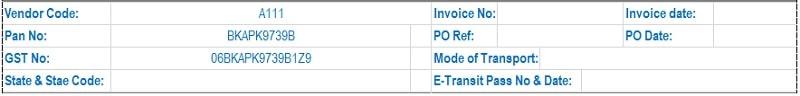 GST Tax Invoice