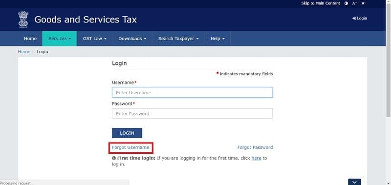 Solution To Forgot Username Or Password on GST Portal - ExcelDataPro