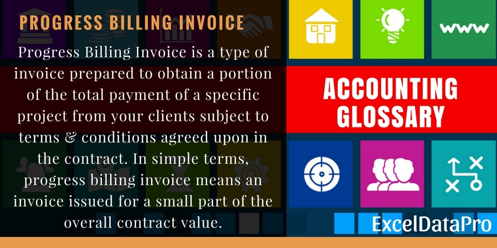 What Is Progress Billing Invoice What Are Its Benefits Exceldatapro