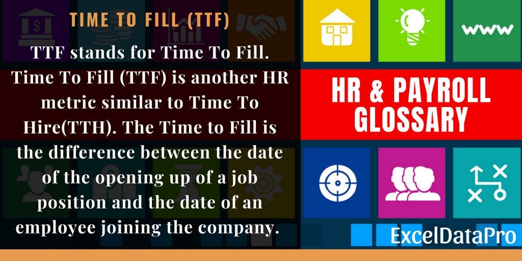 Time To Fill (TTF)