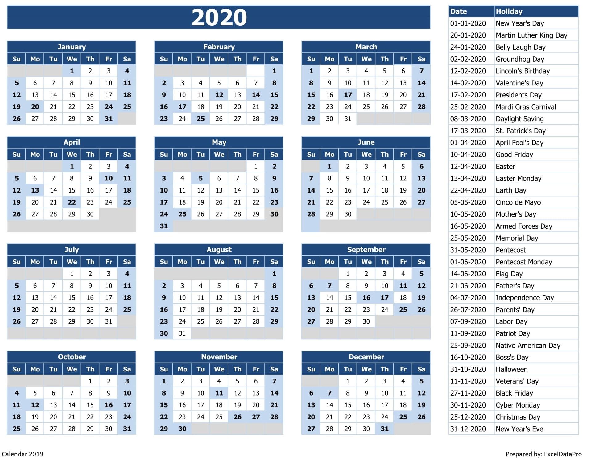 2020 Holiday List.2020 Holidays Kozen Jasonkellyphoto Co