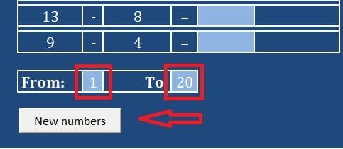Maths Practice Sheet