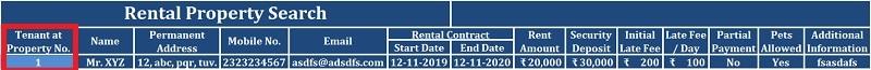 Rental Property Search